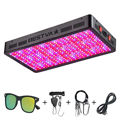 BESTVA DC Series 3000W LED Grow Light Full Spectrum Grow Lamp for Greenhouse Hydroponic Indoor...