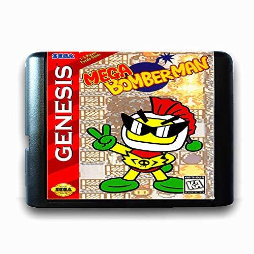 Jhana Mega Bomber Man para tarjeta de juego Sega MD de 16...