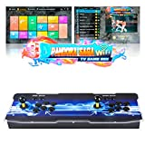 TAPDRA 3D Pandora SAGA WiFi 3000 in 1 TV Game Box Arcade Console Full DIY Kit, Support 10000+ Games Download, Up to 4 Player, HDMI Output