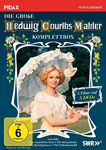 Die große Hedwig Courths-Mahler Komplettbox (Griseldis + Eine ungeliebte Frau + Die Kriegsbraut + Die Bettelprinzess + Der Scheingemahl) (Pidax Film-Klassiker) [5 DVDs]