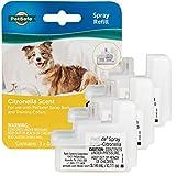 PetSafe Spray Refill - Citronella - No-Mess Replacement Cartridges Spray Dog Bark Collar Remote Training Collar - Refill Cartridge Only - 3-Pack - PAC00-16371