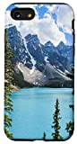 iPhone SE (2020) / 7 / 8 beautiful snow ice mountains forest nature lake landscape Case
