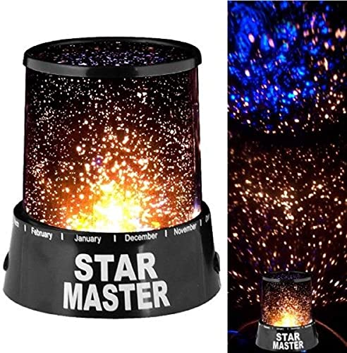 FLOOVI Master Projector LED Night Lamp Gizmos Star Projector Sky Lantern with USB Wire Turn Any Room Into A Starry Sky