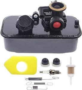 Cnfaner Carburetor & Fuel Tank 494406 499809 498809A for 96900 98900 & 9B900 Thru 9H999 with 790849 699056 Governor Spring Air Filter Kit