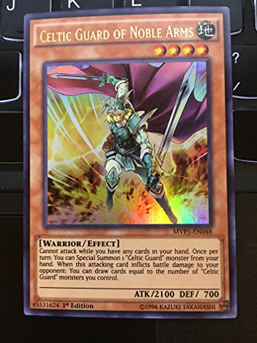 YU-GI-OH! - Celtic Guard of Noble Arms (MVP1-EN048) - The Dark Side of Dimensions Movie Pack - 1st Edition - Ultra Rare
