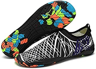 White & Black Swimming & Water Games Shoe For Unisex