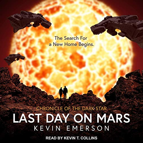 Last Day on Mars audiobook cover art