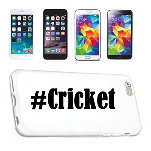 Reifen-Markt Handyhülle kompatibel für Huawei P9 Hashtag #Cricket im Social Network Design Hardcase Schutzhülle Handy Cover Smart Cover