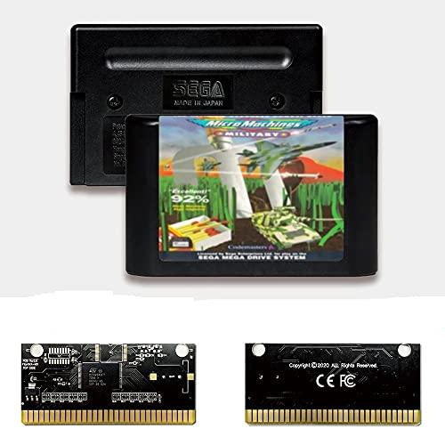 Yuva Micro Machines Military EUR Label Flashkit MD Tarjeta PCB dorada sin...