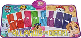 Sakar TOY-15371 Paw Patrol Electronic Piano Music Mat,  Light-up Dashboard cues Dance Rhythm, get Your Kid Moving' and Gro...