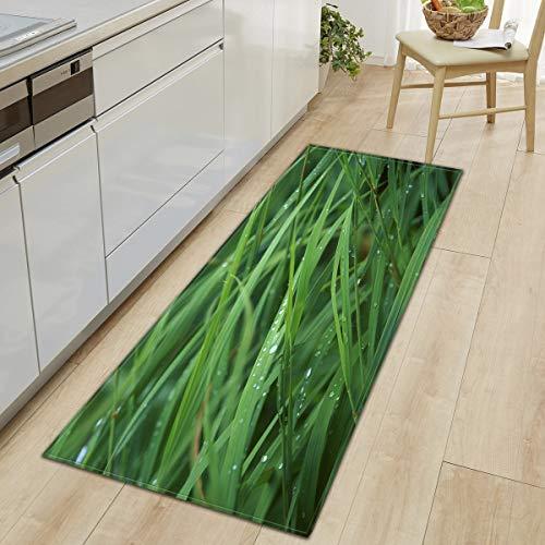Kitchen Mat Floor Carpet Bamboo grass Home Doormat Modern Rug Bedroom Living Room Bath Floor Mats Tapete Mat A8 50x160cm