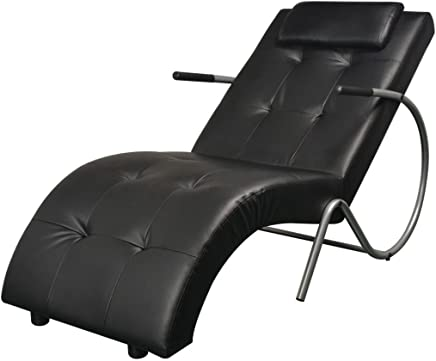 Poltrona Con Chaise Longue.Amazon It Cuscini Pelle Poltrone Relax Et Chaise Longue