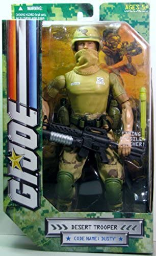 GI JOE 12 INCH MILITARY FIGURE - DUSTY