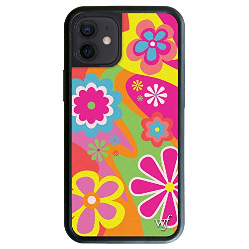 Wildflower Limited Edition Cases Compatible with iPhone 12 Mini (Groovy Flowers)