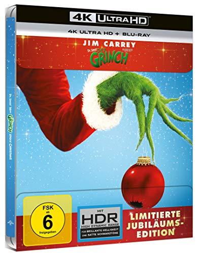 Der Grinch (Limitiertes Steelbook) 4k UHD + Blu-ray