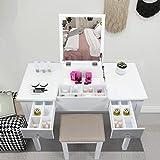 AODAILIHB Vanity Desk with Flip Top...