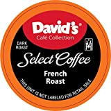 David's Café Collection, French Roast, Single Serve Cup 100Count (Compatible With 2.0 Brewers)