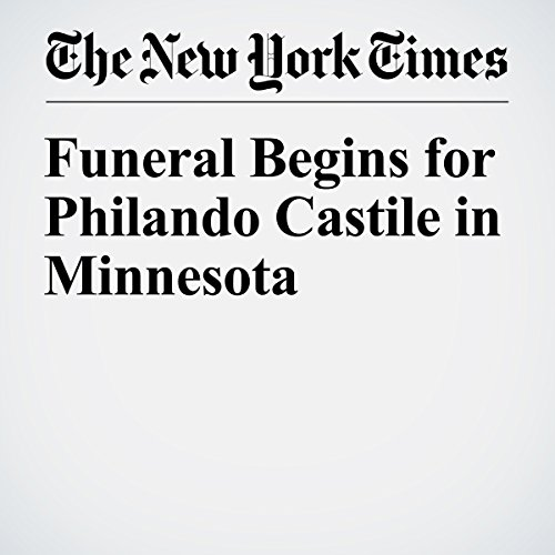 Funeral Begins for Philando Castile in Minnesota audiobook cover art