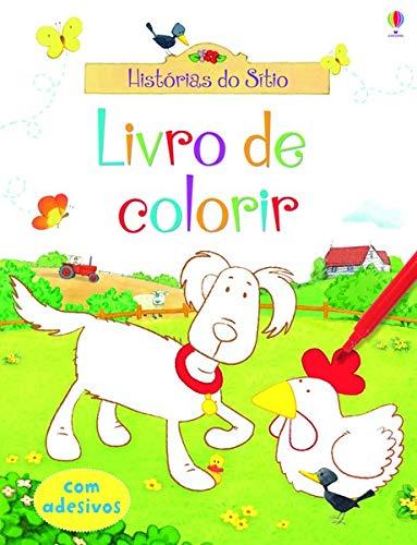 Livro de colorir : Histórias do sítio