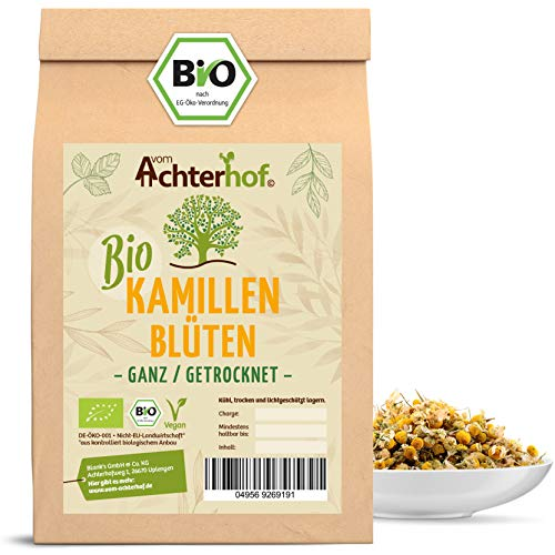 Kamillentee Bio lose (250g) Kamillenblüten-Tee getrocknet Kamille