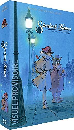 L'intégrale remastérisée de la série animée Sherlock Holmes en Blu-ray