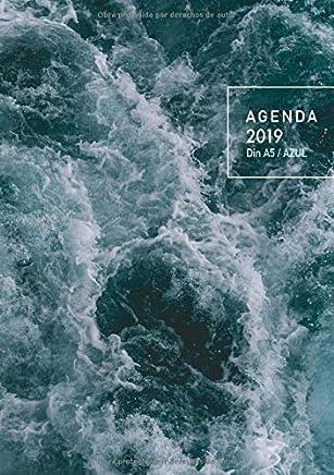 Agenda 2019 Din A5 Azul: Organiza tu día - Agenda semanal 12 ...