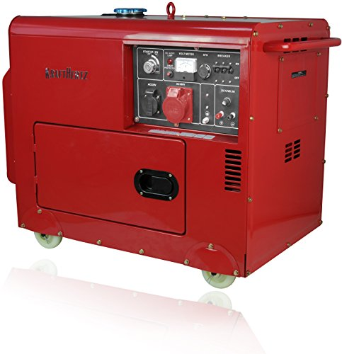 Diesel Stromerzeuger 230V + 400V Starkstrom Generator 5500 Watt DIESELAGGREGAT