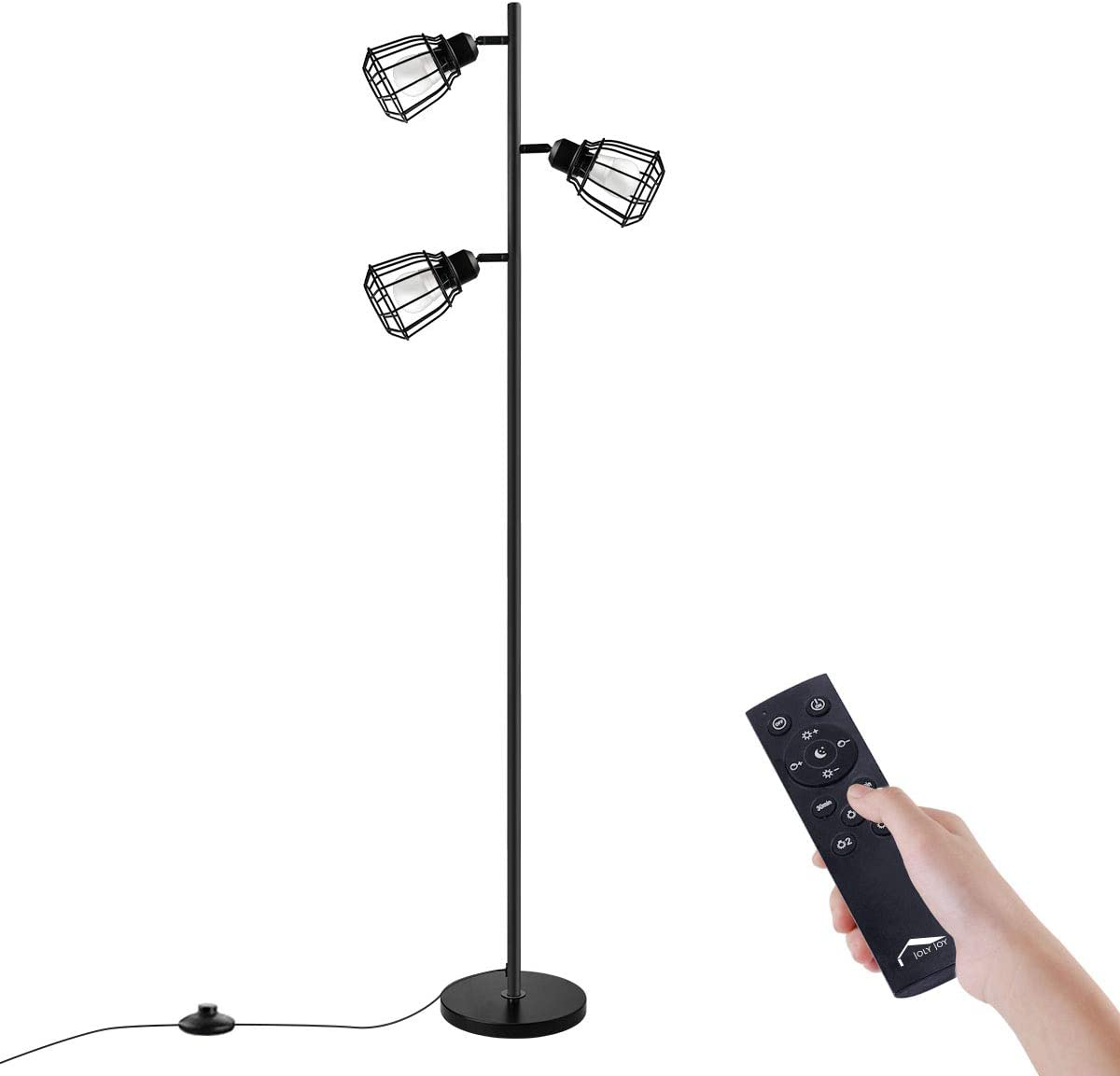 Houston Mall Joly Joy Arc Floor Lamps Super Metal Bright Los Angeles Mall Torchiere 3-Lig LED