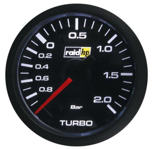 Raid HP 660172 Zusatzinstrument Ladedruckanzeige Serie Sport