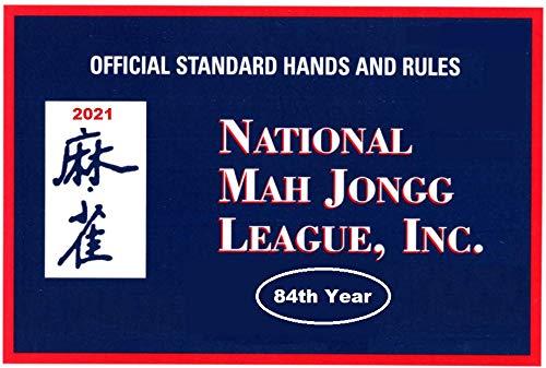 National Mah Jongg League 2021 Standard Size Scorecard - Mah Jongg Card