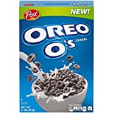 Post OREO O's Breakfast Cereal, 11oz Box, 14 Count
