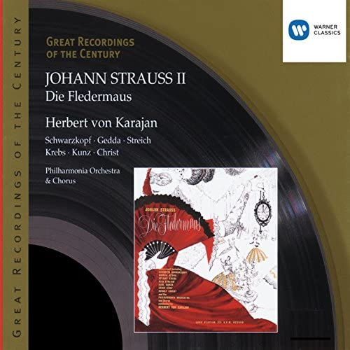 Herbert von Karajan/Philharmonia Orchestra/Soloists & Johann Strauss II