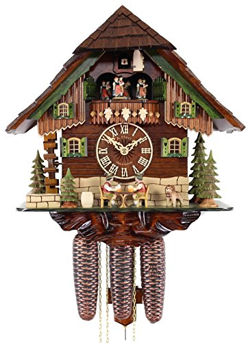 Adolf Herr Cuckoo Clock - The Merry Beer Drinkers