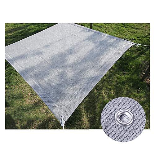 WXQIANG Sun Shade Sail Shaining Net con Ojales Jardín Toldo Tabla 85% a Prueba de UV, tamaño Personalizable Protección Solar, Aislamiento térmico. (Size : 3X6M)
