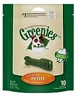Greenies Mini Treat Pak 6-Ounce Canine Dental Chews for Adult Dogs, Petite by Greenies Dog & Cat Tre...