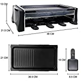 Zoom IMG-1 raclette 8 personne griglia grill