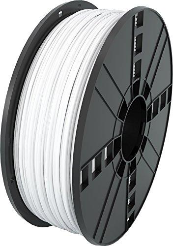 MG Chemicals White PLA 3D Printer Filament, 2.85 mm, 1 kg Spool