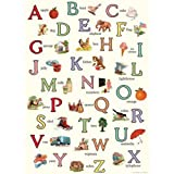 Cavallini Decorative Paper - Vintage Alphabet 20'x28' Sheet