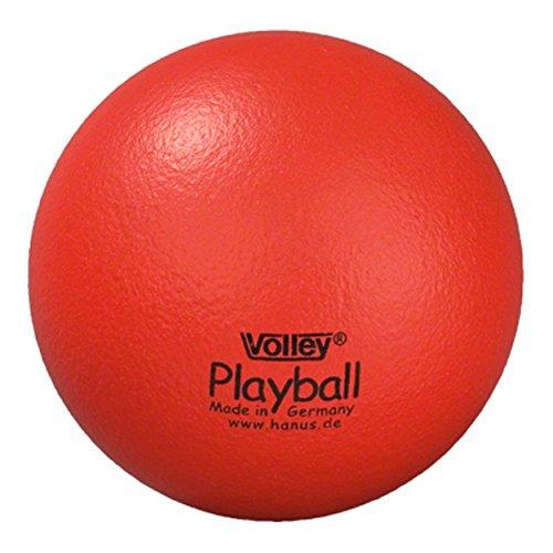 Volley Softball aus Schaumstoff mit Elefantenhaut, ø 16 cm - rot