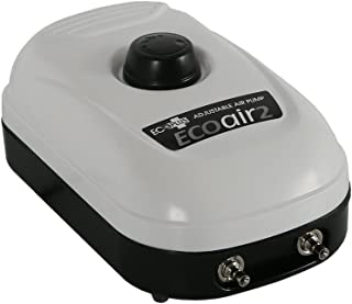 EcoPlus 126 GPH (480 LPH, 3W) Air Pump w/ 2 Outlets | Aquarium, Fish Tank, Fountain,..