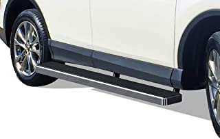 APS iBoard Running Boards 6 inches Custom Fit 2016-2018 Toyota Rav4 (Exclude 2018 Adventure Trim) (Nerf Bars Side Steps Side Bars)