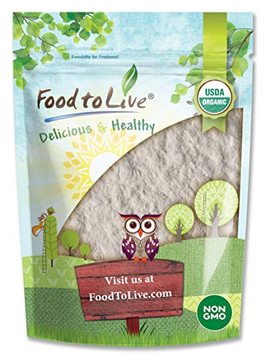 Organic Guar Gum Powder, 8 Ounces - Great Thickener & Binder, Food Grade, Perfect for Baking, Non-GMO, Kosher, Vegan, Bulk