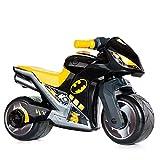 Moto da Corsa Molto Cross, a Partire dai 18 Mesi, all-Terrain, Decorazione Giocattolo High-Tech, Non Si smonta. Design Sportivo e Unico (Nero - Batman)