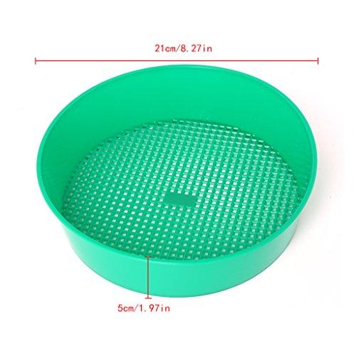 BUIDI - Siebe in Grün, Größe x5cm/8.27