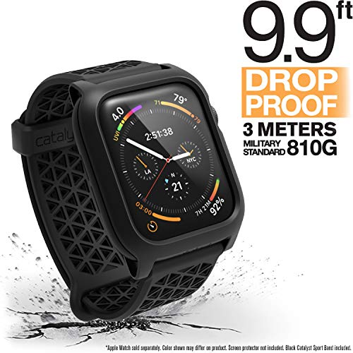 Catalyst Apple Watch Series 4 Impact Case 44mm ECG and EKG Compatible Superior Sport Band Rugged iWatch Protective Case, Drop...