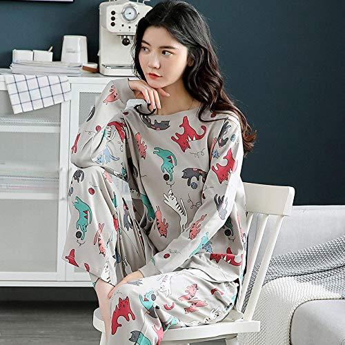 Wenhua Nightdress Sexy, Ladies spring, autumn and winter casual pajamas suits,-2215-M, Cosy & Soft Ladies Pyjamas Loungewear Nightwear