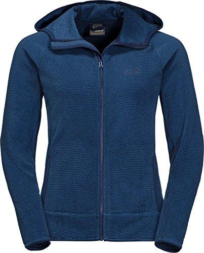 Jack Wolfskin Arco Jacke Damen Midnight Blue Stripes Größe L 2019 Funktionsjacke