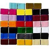 Samt-Band von Chenkou Craft, 18,3 m lang, 40 mm breit, 20verschiedene Farben zur Auswahl