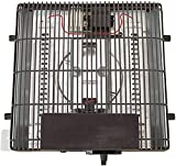 HAO KEAI Calefactor de terraza Calentador de reemplazo for kotatsu japonés,Tubo de calefacción de Doble Cuarzo,200-600w Temperatura Ajustable Continua,Colgando Debajo de la Mesa