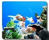 Cojín de ratón, Tema de los Pescados del océano de los Cojines de ratón únicos del Juego